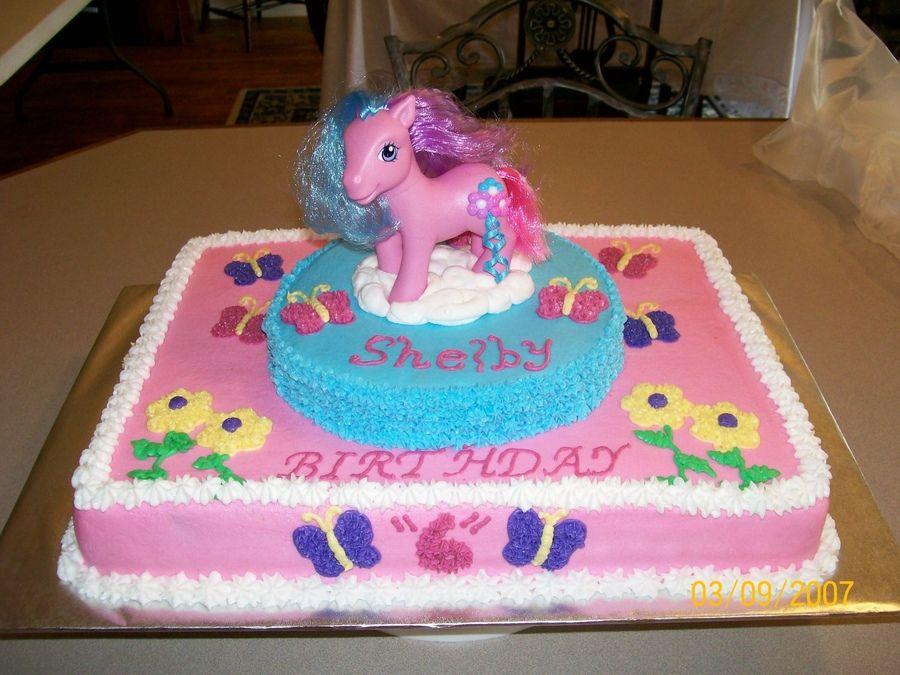 My Little Pony Birthday Cake Walmart Emanuel Pinterest