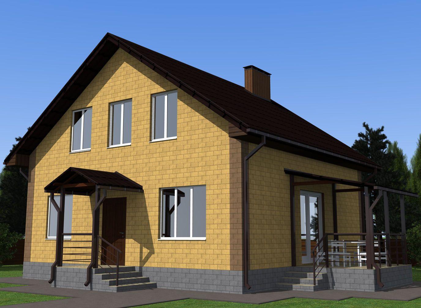 простой дом проект