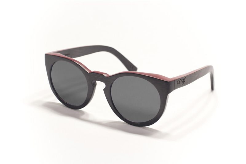 Bogus Black Front Red Sides Gray  awesome company that makes sunglasses from WOOD!! They give back to the environment and non-profit organizations! Check them out :)