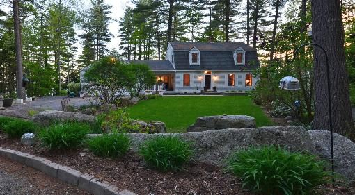 LAKEFRONT HOME FOR SALE IN LINCOLN MAINE