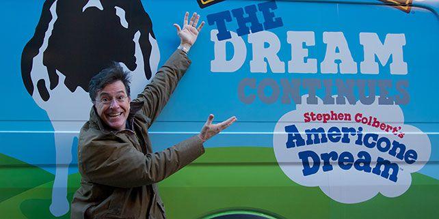 Stephen Colbert S Americone Dream Ice Cream Vanilla Ice Cream