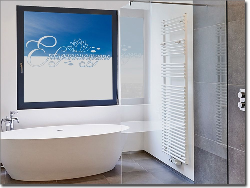 Fensterfolie Badezimmer » Fensterfolie für das bad ihre eigene ...