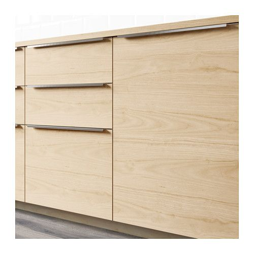Kitchen Drawer Fronts askersund drawer front light ash effect 80x20 cm | drawers