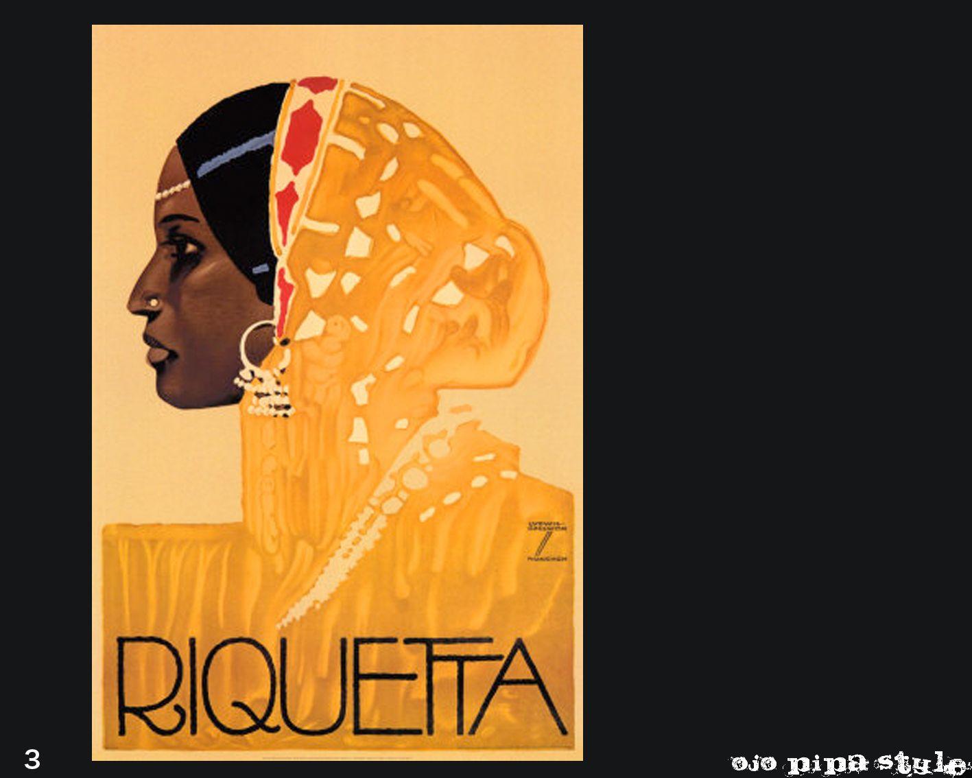 OJOPIPA STYLE: Riquetta