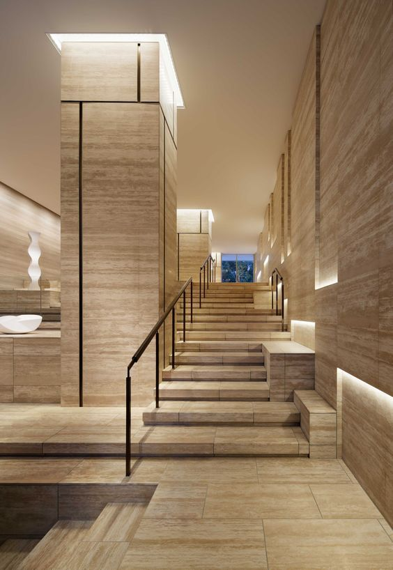 Pin de marmoles de mexico en marmi escaleras interiores - Diseno de escaleras interiores ...