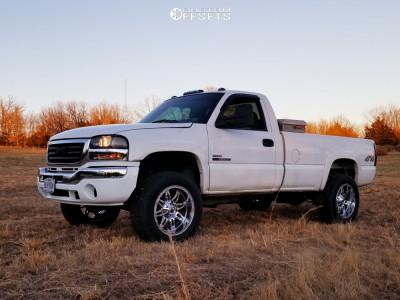 2004 Gmc Sierra 3500 20x10 24mm Fuel Hostage In 2020 Chevrolet Trucks Chevy Trucks Offroad Trucks