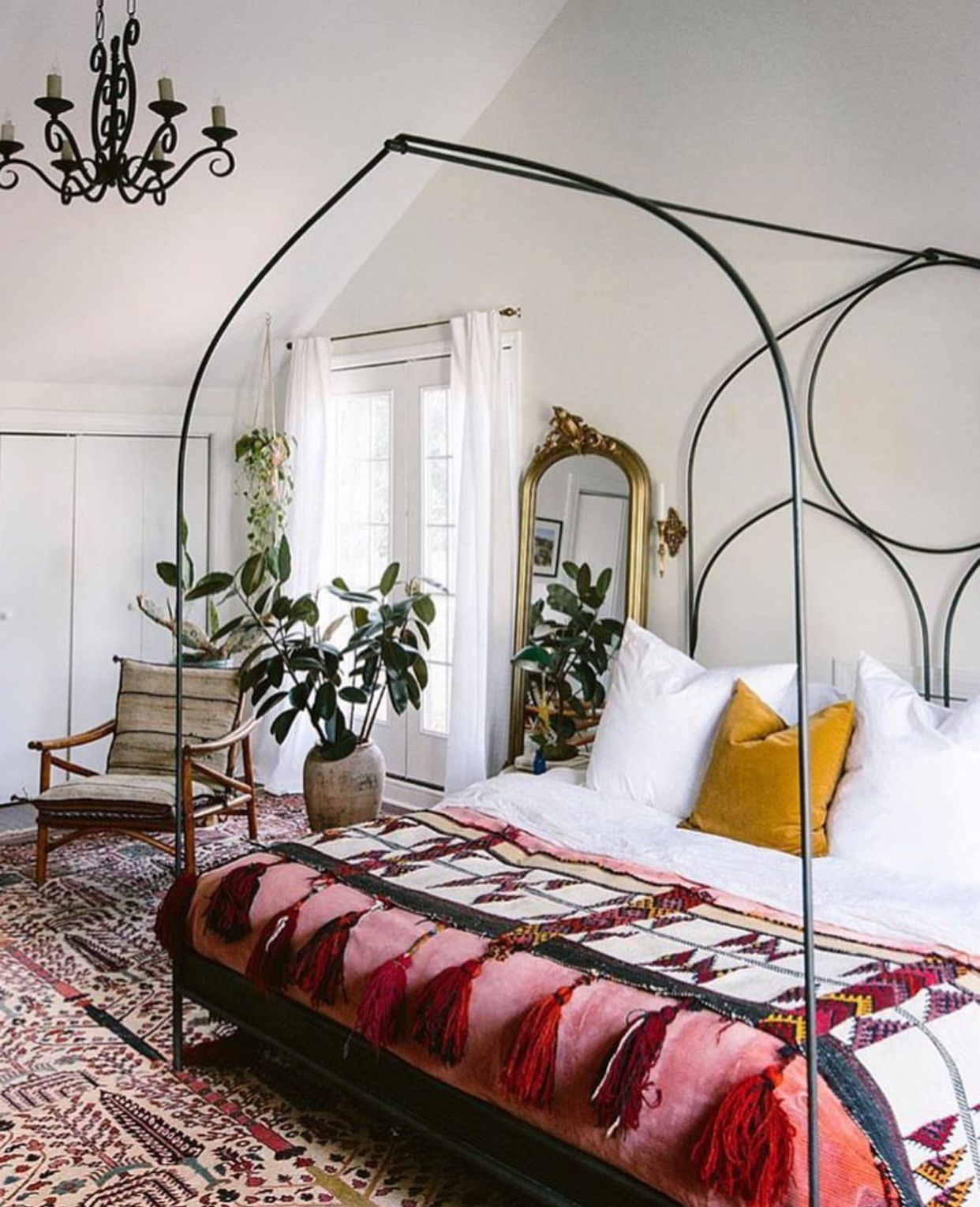 innovative new bohemian bedroom furniture | Pin by Jessica Kelley on Home in 2019 | Bohemian bedroom ...