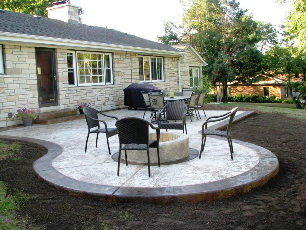 Cover Concrete Patio Ideas Covering