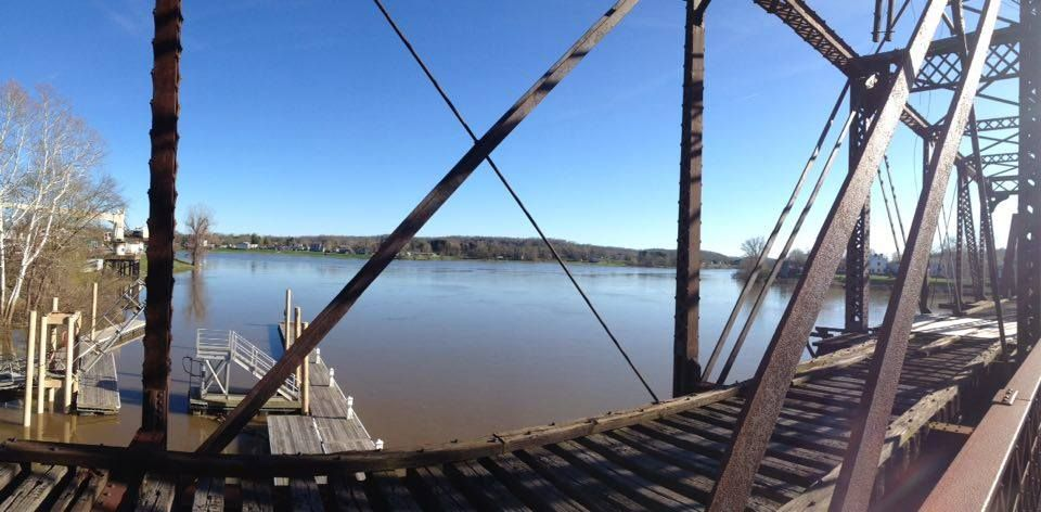 Harmar bridge in marietta oh with images mid ohio