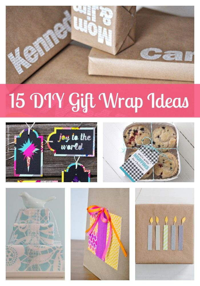 15 diy gift wrapping