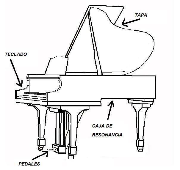 Parts Del Piano Baby Grand Pianos Piano