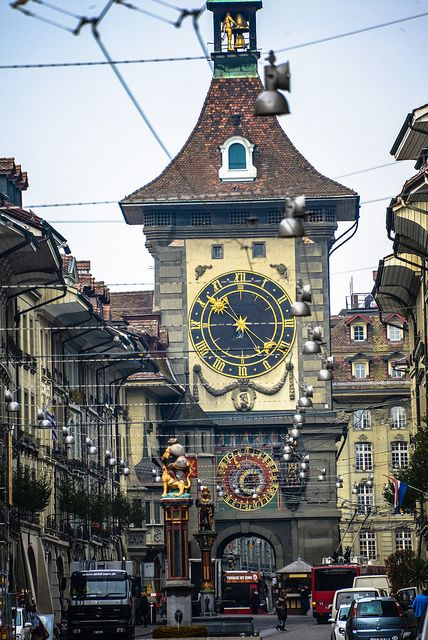 Zytglogge Clock Tower In Old Town Bern Switzerland By Mbell1975, Via Flickr