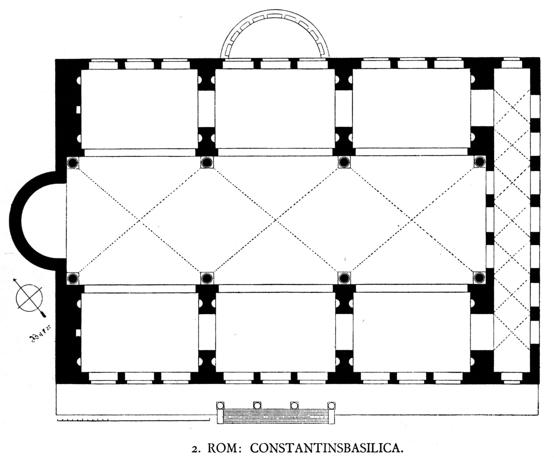 Basilica Of Constantine Georg Dehio Gustav Von Bezold Kirchliche Baukunst Des Abendlandes Stuttgart Verlag Der Cotta Schen Architectuur Hagia Sophia Tempel