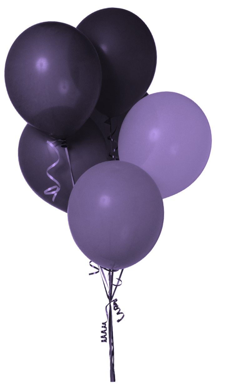 Balloons Png 729 1238 Luftballons Lila Luftballons Bilder