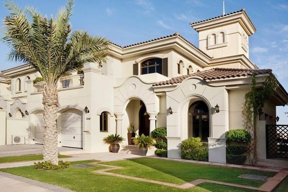 Дубай дома в цветах недвижимость в айя напа