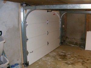 Interior Door Low Headroom Track Garage Door Track Garage Doors Garage Door Installation