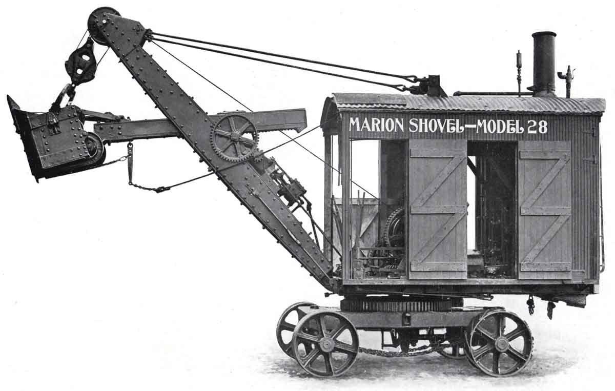 Images For Modern Steam Shovel Heavy Equipment Construction Equipment Steam