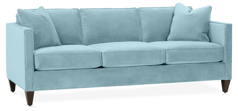 Cecilia Sleeper Sofa Light Blue