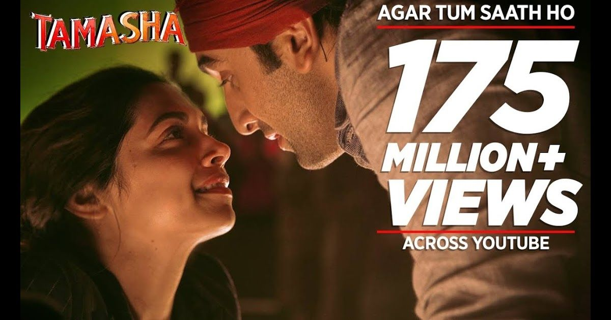 Agar Tum Saath Ho Full Audio Song Tamasha Ranbir Kapoor Deepika Padukone Alka Yagnik Arijit Singh Lyrics Singer Alka Audio Songs Songs Tamasha Movie