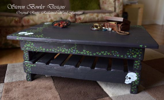 Fantastic Item In Stock Gothic Style Reclaimed Wood Coffee Table With Download Free Architecture Designs Xerocsunscenecom
