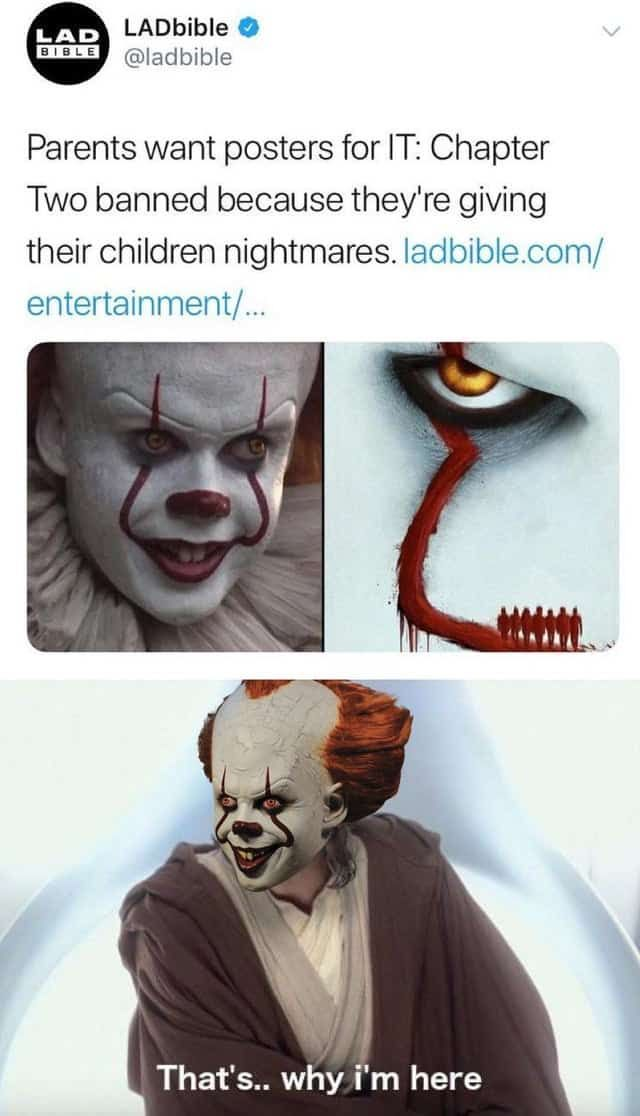 20 It Chapter 2 Memes Viral Now Dark Humour Memes Funny