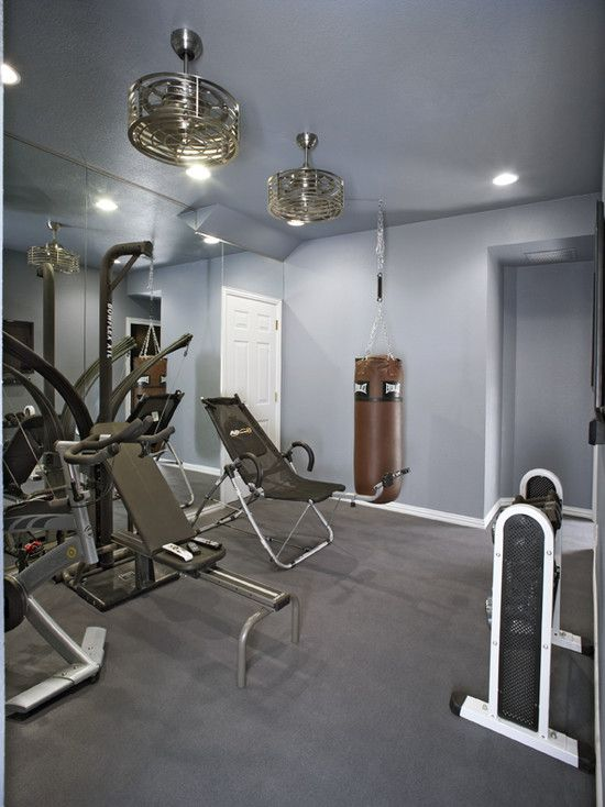 Home Gym Exercise Room Design, Pictures, Remodel, Decor and Ideas ...