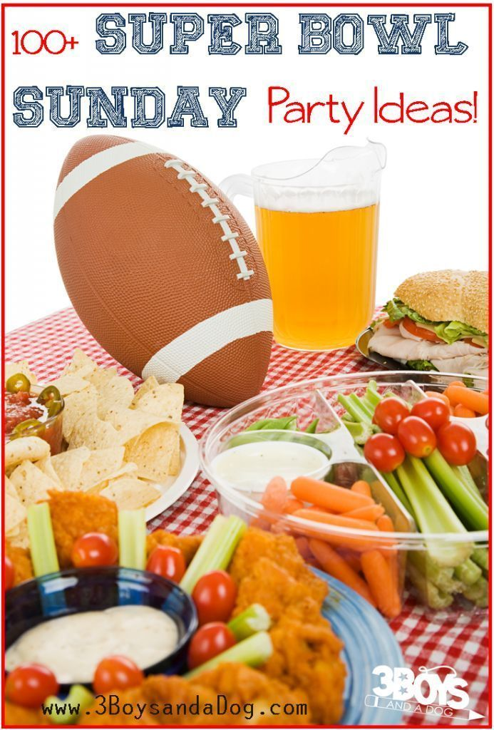 Over 100 Super Bowl Sunday Party Ideas: Recipes, Invitations, and Decorations!,  #Bowl #Decor…