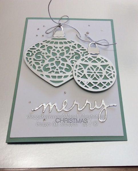Embellished ornaments SU Ravissants ornements + framelits