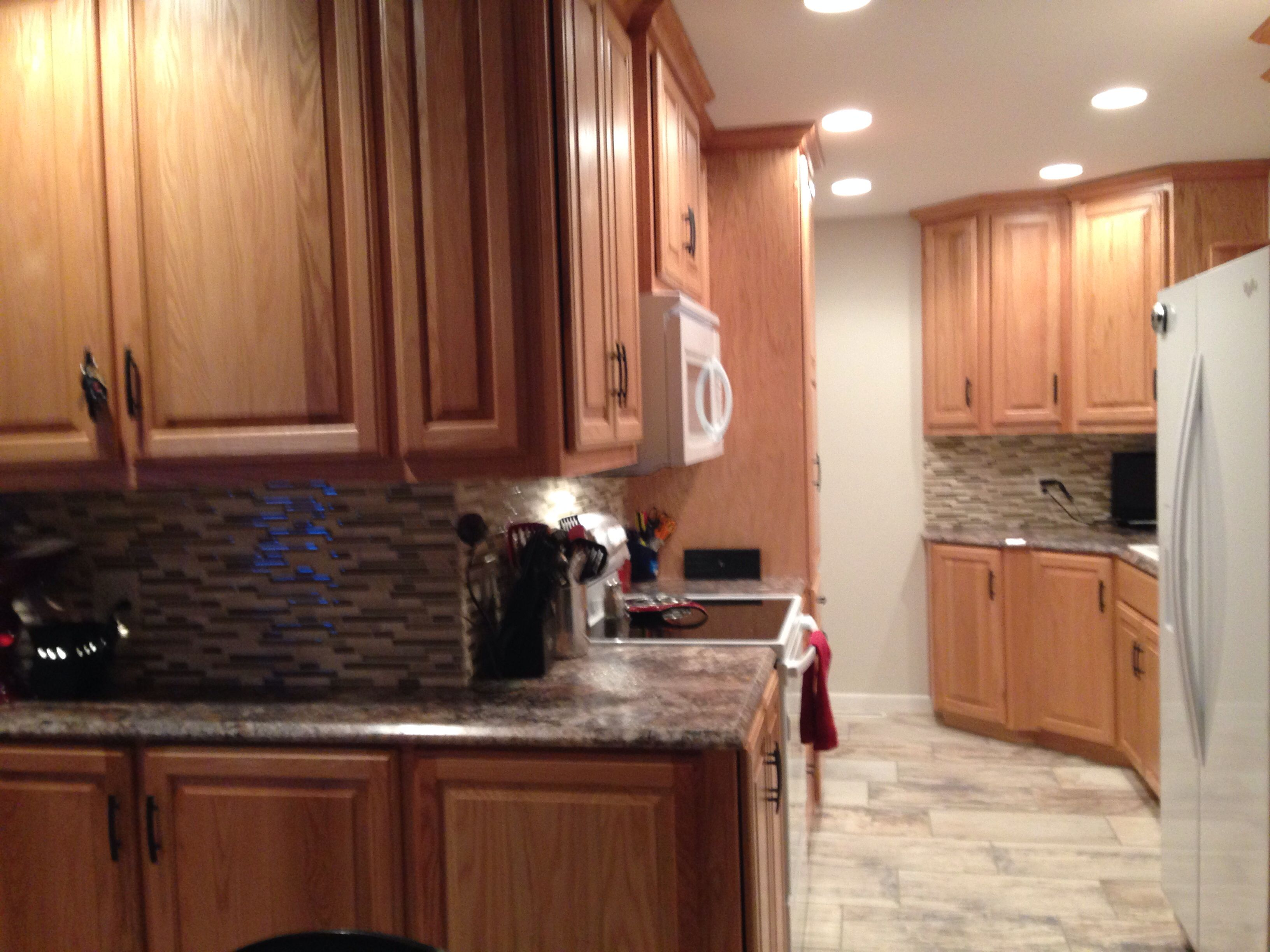Oak cabinets with natural stain   Home remodeling, Oak ...