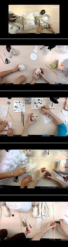 создание куклы Эльза