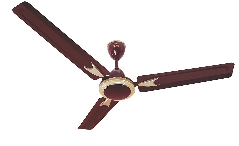 Polycab Designer High Speed 1200 Mm Ceiling Fan 400 R P M 100 Copper Motor Anti Rust Co Ceiling Fan Anti Rust Rust Paint