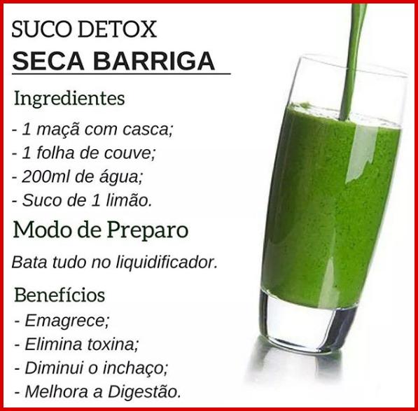 beneficios do detox shake