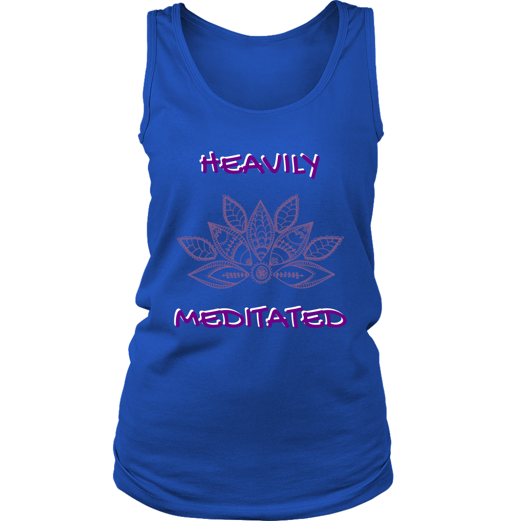 MN Lotus Heavily Meditated - Womans Tank