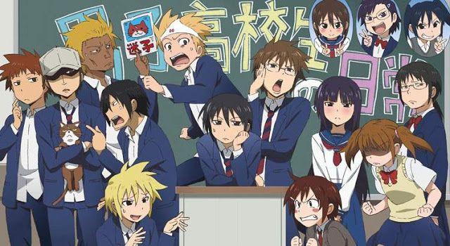25 Anime Komedi Terbaik Yang Paling Lucu Dan Bikin Ngakak