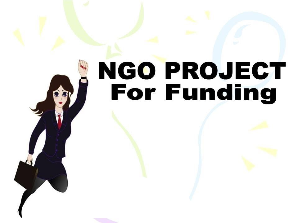 Ngo Project  Ngo Project For Funding  G
