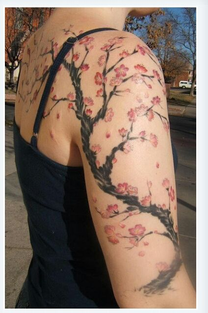 I Want This One Soo Bad Blossom Tattoo Armband Tattoo Design Picture Tattoos