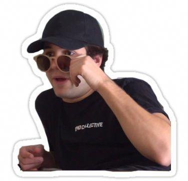 David Dobrik Sticker   Vlog squad, David dobrik, Phone ...