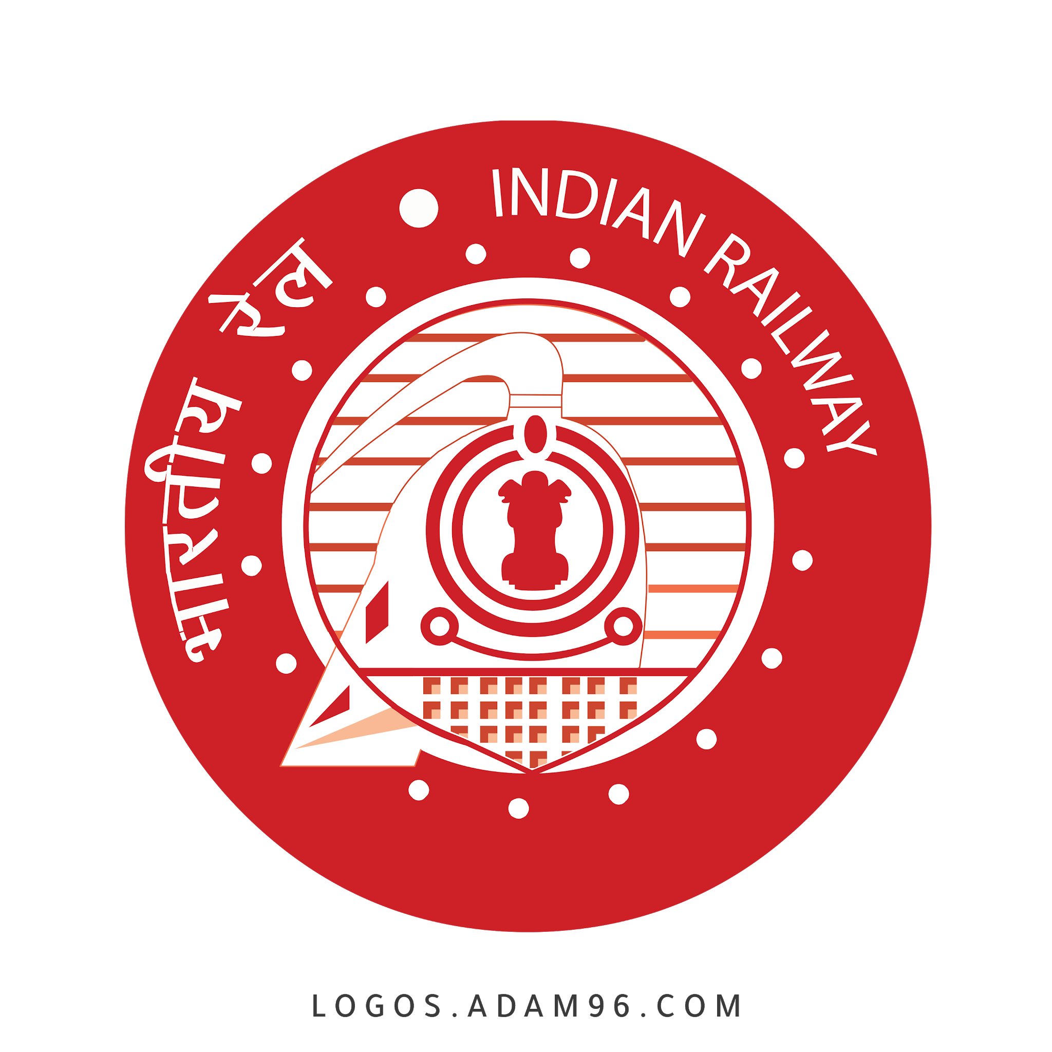 Download Logo Indian Railway Png Free Vector In 2021 Indian Railways Previous Question Papers Question Paper
