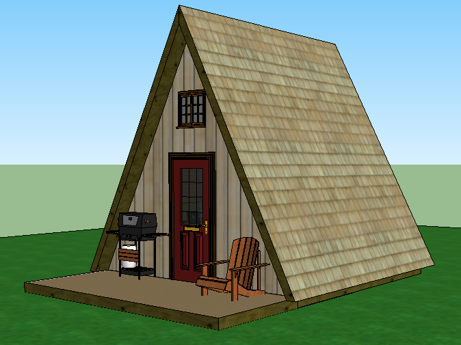 A Frame Cabin Simple Solar Homesteading A Frame Cabin Plans A Frame House A Frame Cabin