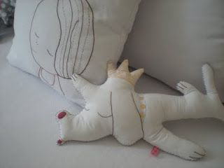 #kids #toys #dog #girl #pillow #ynara´sdolls by #petitretro