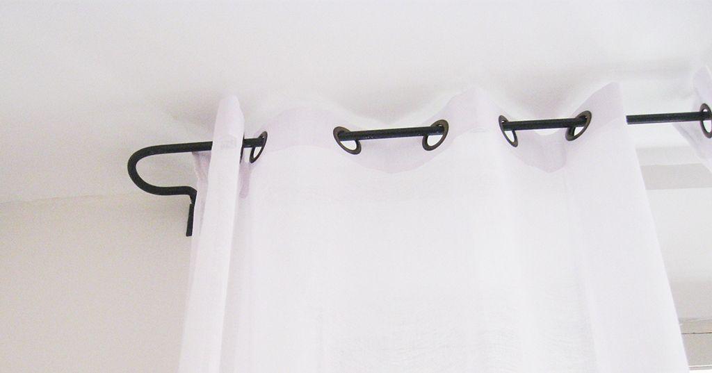 Tringle à rideaux provençale en fer forgé | Tringles | Pinterest ...