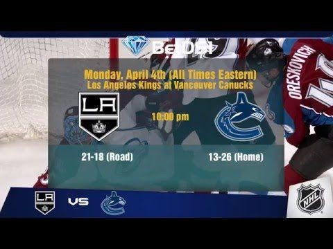 NHL Hockey Picks | NHL Odds April 4 2016