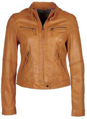blouson cuir femme oakwood 60135 jaune   Hiver   Pinterest   Oakwood ... 56bcf861802