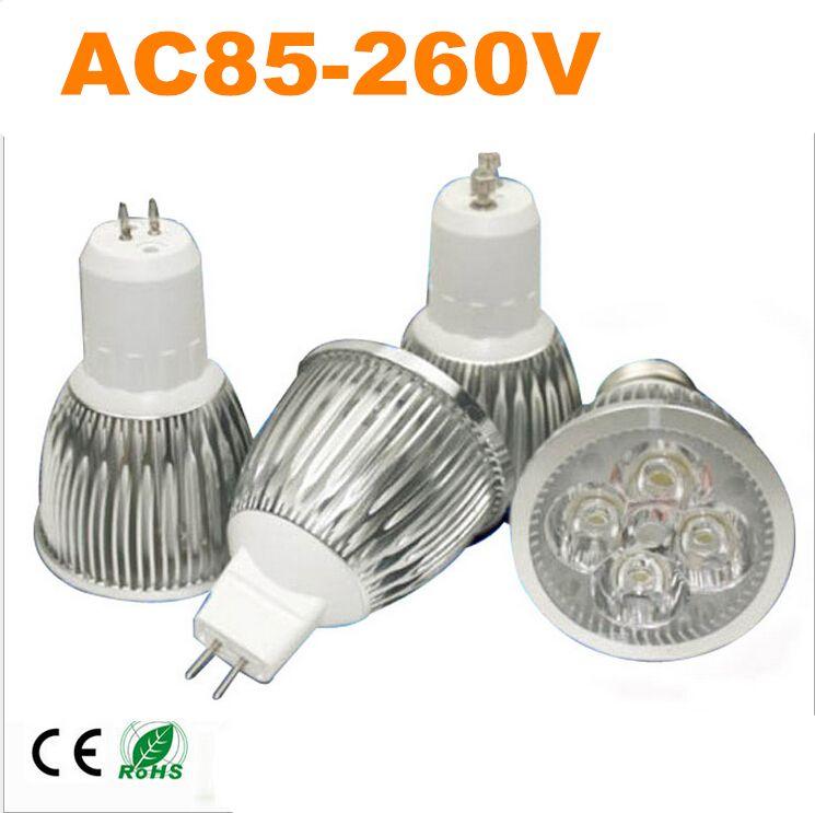 4d3f126ab Super Bright GU10 E27 Dimmable Led COB Spotlight light lamp 5W 7W AC 85-260V  LED Bulbs LED Spotlight LED downlight CE Rohs FCC