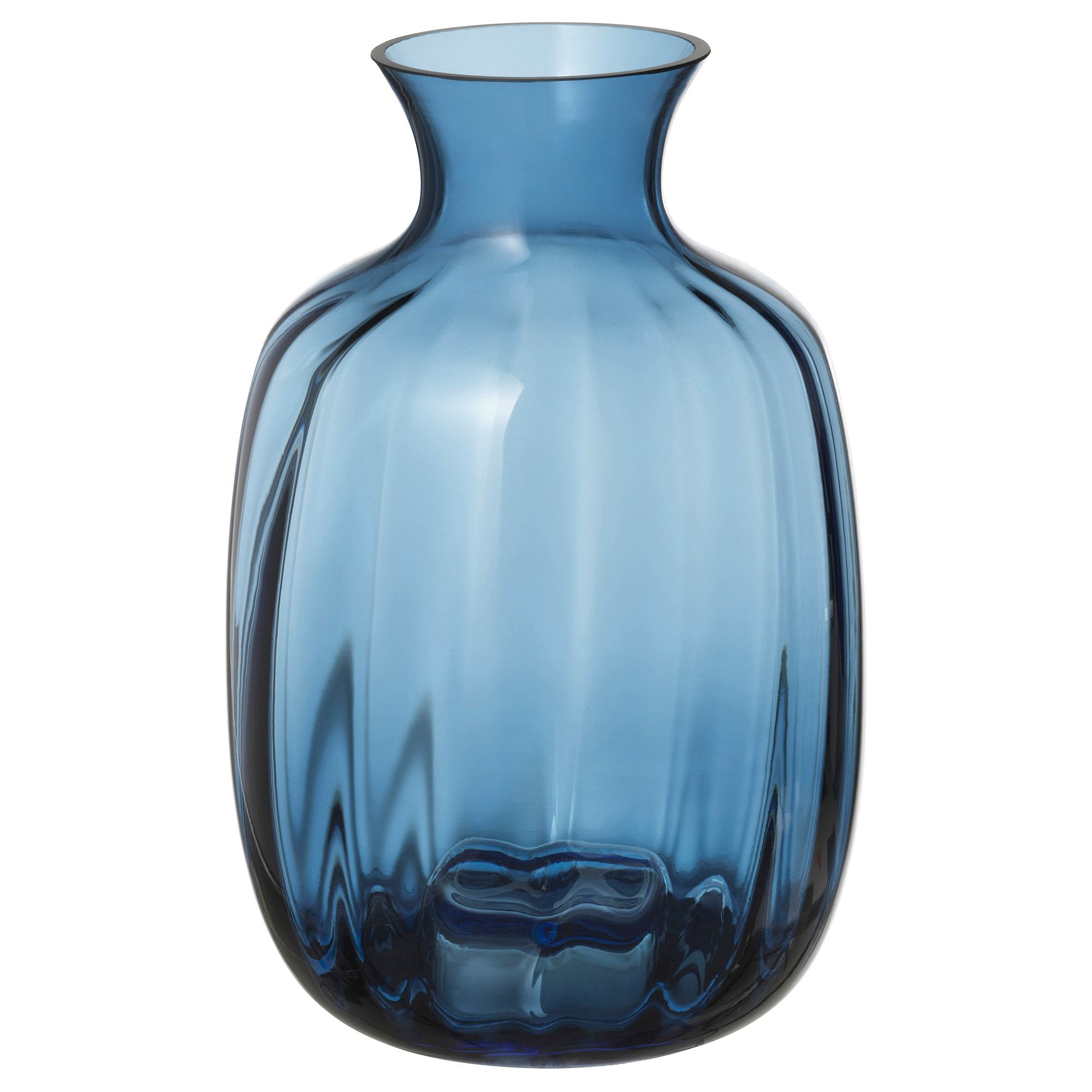 Tonsatta Vase Blue 8 Glass Flower Vases Blue Glass Vase Vase