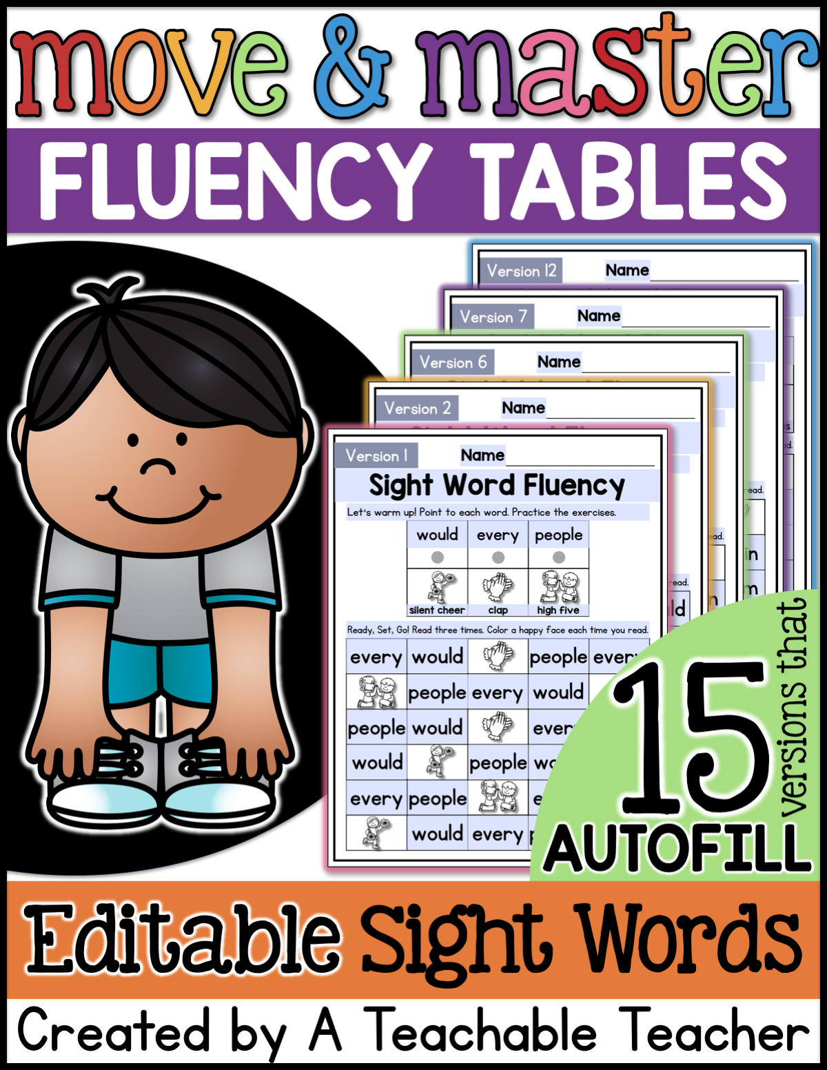 The Best Sight Word Fluency Worksheets Of All Time