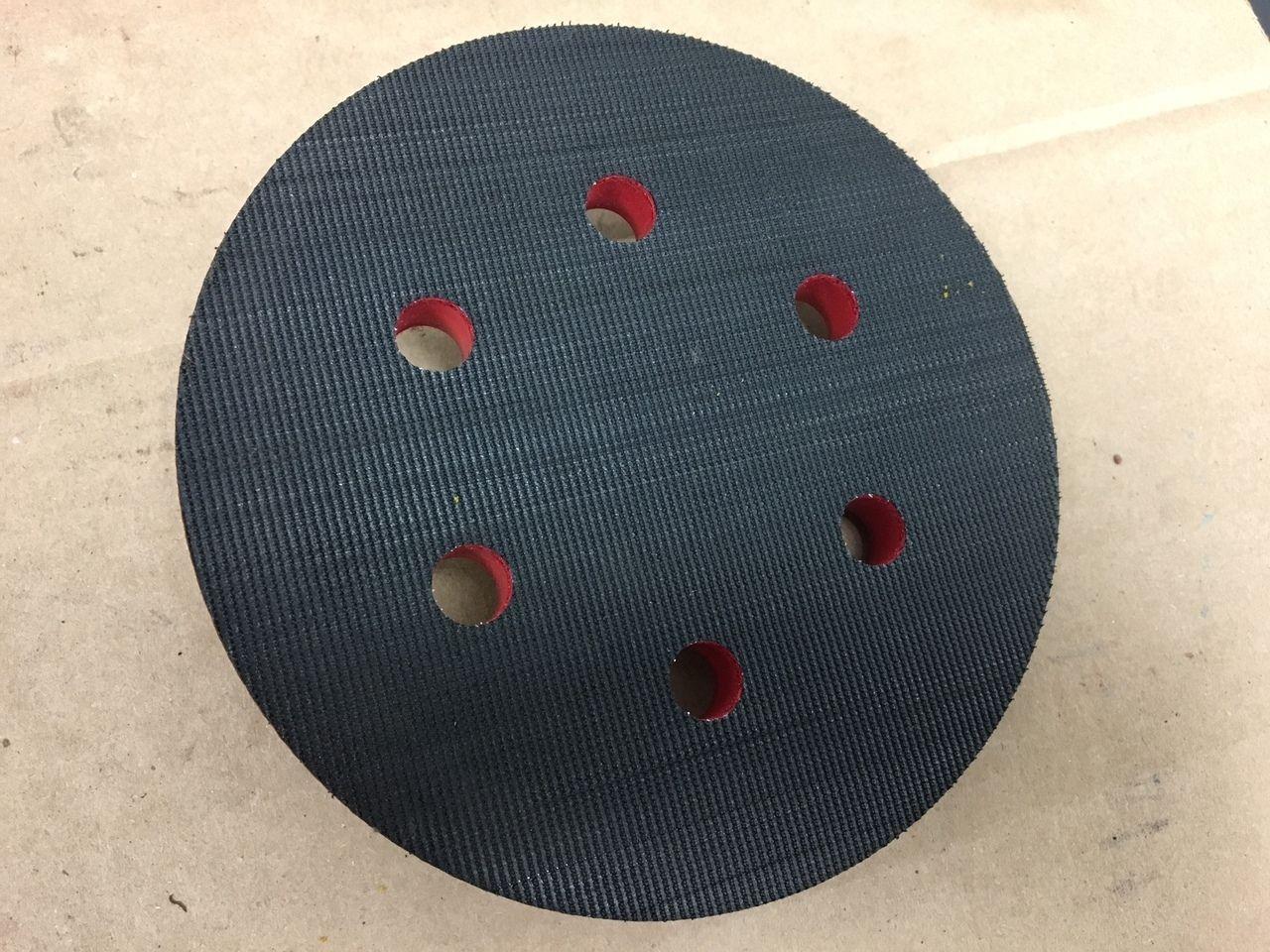 "6"" Pneumatic Sanding Pad Sioux 594JV 5/1624 Thread Velcro"