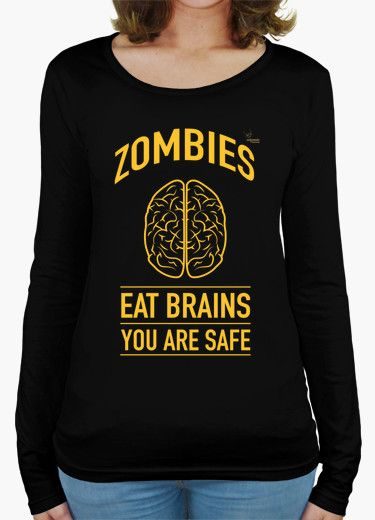 Camiseta Zombies B Camiseta mujer manga larga  18,90 € - ¡Envío gratis a partir de 3 artículos!