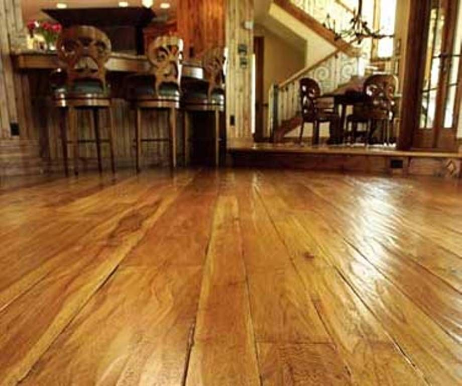 Handscratched parquet floor at home depot depot hand