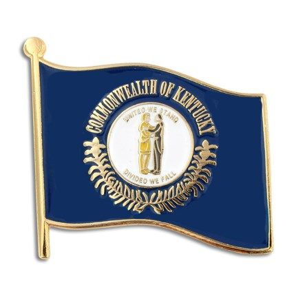 PinMart State Shape of New Hampshire and New Hampshire Flag Lapel Pin